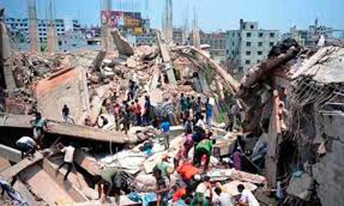 Hallada viva una mujer 17 días después del derrumbe de Bangladesh