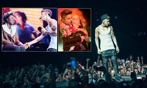 Le roban 250.000 euros a Justin Bieber