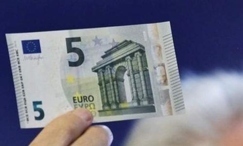 Así es el nuevo billete de 5 euros