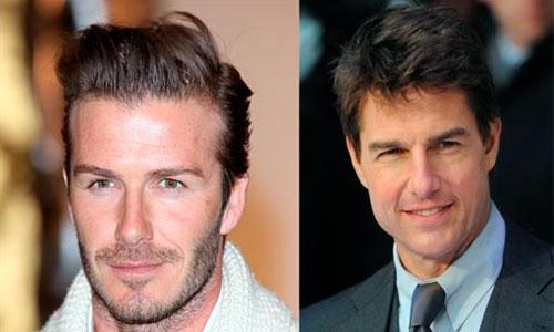 Cruise convertirá a Beckham en estrella de cine