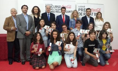 Coca-Cola entrega los premios del 'Concurs de Relat Breu'