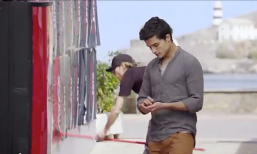 Divertido anuncio de Coca-Cola grabado en el Port de Sóller