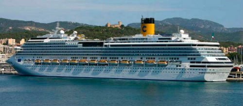 Baleares incrementa un 389% los pasajeros de crucero