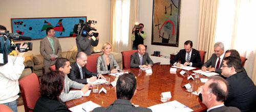 Frente común de Baleares y las islas griegas para exigir ayudas a la UE