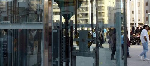Las taquillas de la Intermodal permanecen cerradas durante días