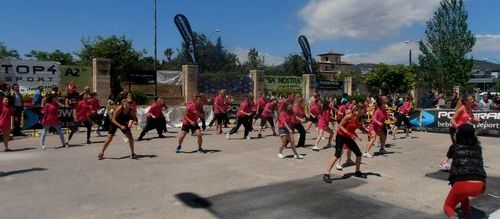Miles de personas participan en la primera jornada de la Fira de l'Esport