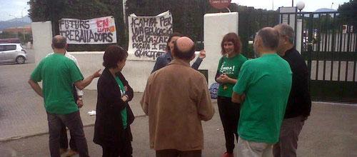 El Govern rebaja a un 23% el seguimiento de la huelga general de educaci�n