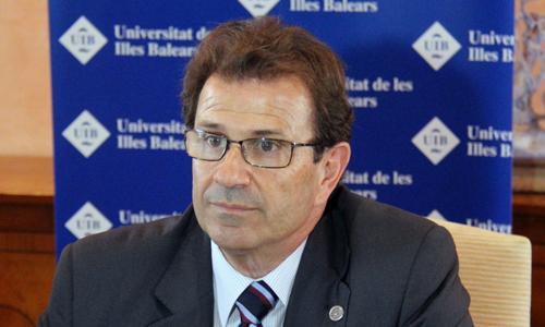 Llorenç Huguet, rector de la UIB