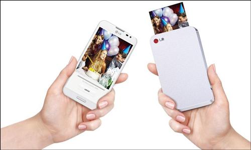 LG lanza una impresora inalámbrica de bolsillo para smartphones