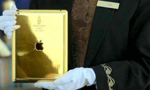 Un iPad de oro para los clientes del hotel más lujoso de Dubai