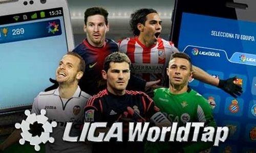 La nueva aplicación oficial de la Liga reta a dar toques con el balón