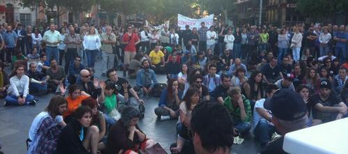 300 Personas se manifiestan en Palma en un