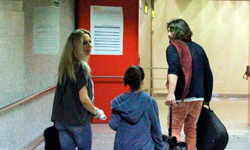 Marta Sánchez abandona Mallorca tras su fin de semana romántico