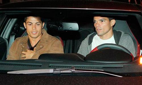Pepe y Cristiano celebran con una cena la salida de