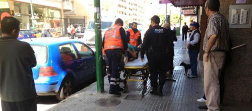 Una mujer se precipita desde un segundo piso en Palma