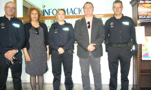 Inca abre una oficina especial de la policía para los jueves de mercado