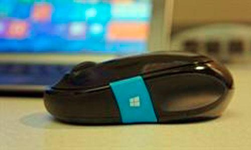 El ratón Windows 8