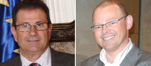 Llorenç Huguet y Antoni Riera, candidatos oficiales a rector de la UIB