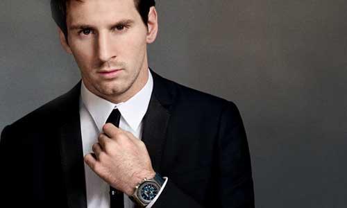 Sotheby's subastará un reloj diseñado por Leo Messi