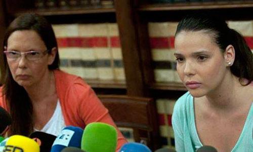 Saida Prieto reaparece tras sus severas quemaduras