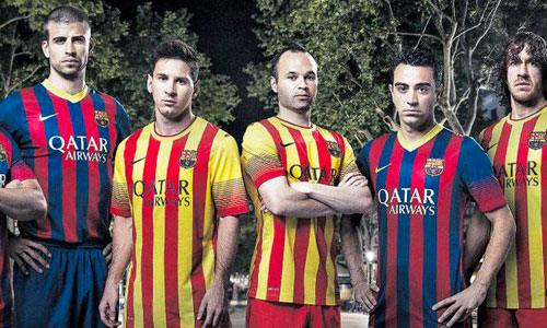 El Barça lucirá la Senyera la próxima temporada