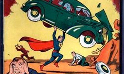Encuentra en las paredes de su casa el primer número de Superman