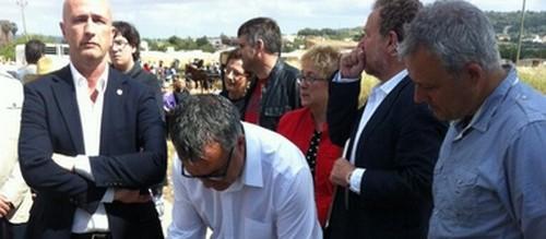 Los alcaldes de Llevant firman un manifiesto a favor del tren