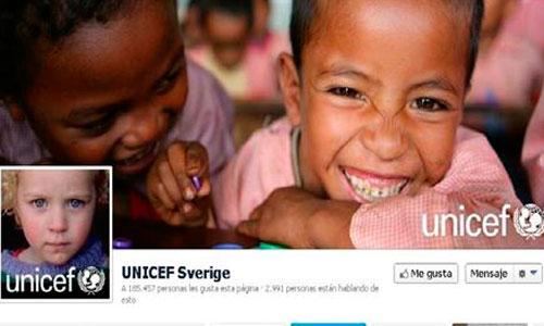 Unicef denuncia que los 'Me gusta