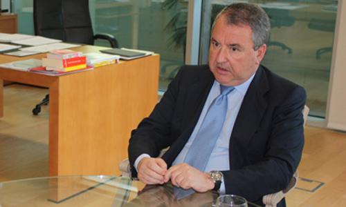 José María Urrutia, presidente de la Autoridad Portuaria