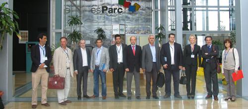 El gobierno regional del Egeo Sur visita las instalaciones de Tirme