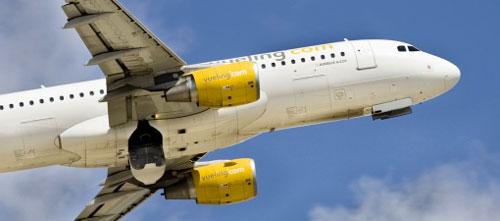 Aterrizaje forzoso de un avión de Vueling en Son Sant Joan