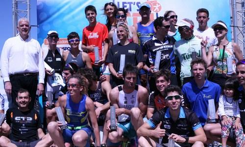 500 participantes en el triatlón 'LET's TRI Ciutat de Palma-Can Pastilla'