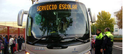 El chófer de un bus escolar cuadruplica la tasa de alcoholemia