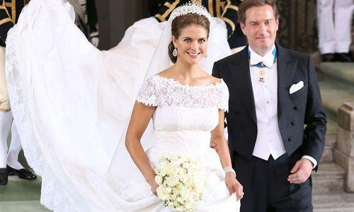 La boda de ensueño de Magdalena de Suecia