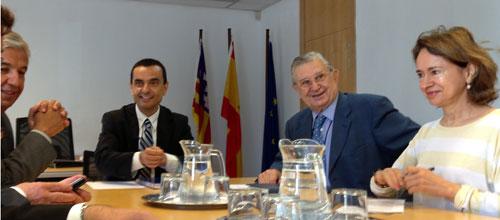 García también promete diálogo contínuo con CAEB y PIME