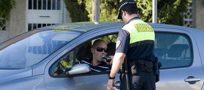 Los controles de alcoholemia se saldan con 82 denuncias y 6 detenidos