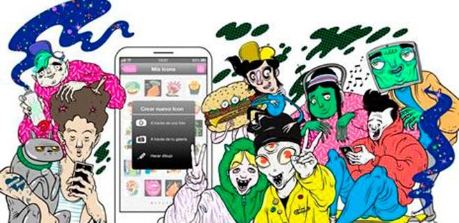 Cuzz, el WhatsApp basado en iconos