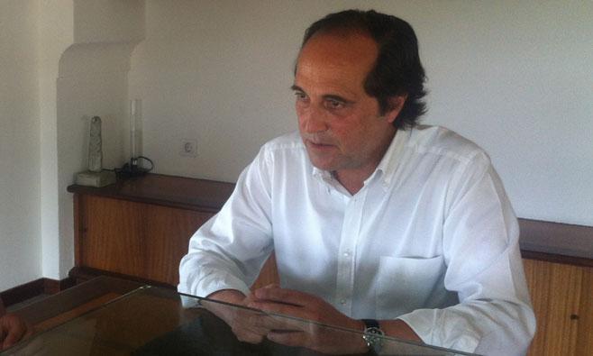Joan Morey, decano del Col·legi d'Arquitectes de Balears