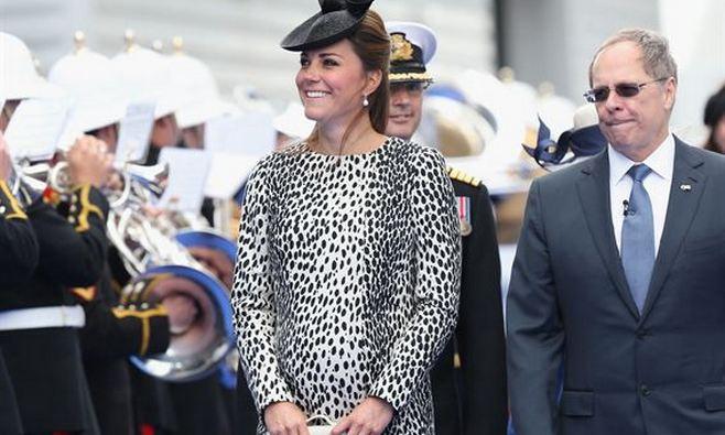 La última aparición pública de Kate Middleton antes de dar a luz