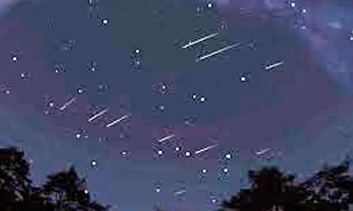Una lluvia de estrellas en 2011 dejó en la Tierra una tonelada de material