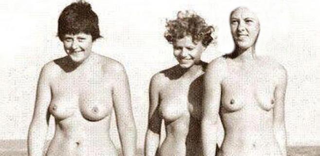 El pasado nudista de Angela Merkel