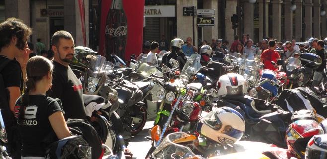 Más de 2.500 motos han participado en la 'Moto Rock Mallorca'