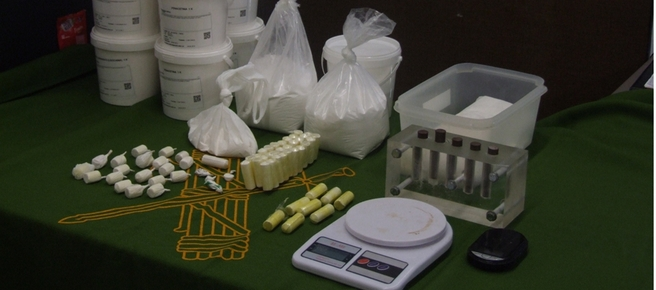 Desarticulada una banda que introducía cocaína en Mallorca