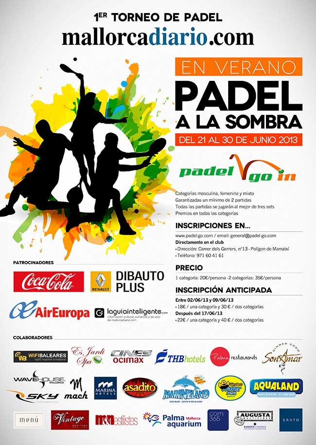 1er Torneo de Padel mallorcadiario.com