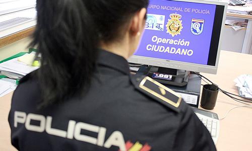 Un virus informático que se hace pasar por la Policía Nacional