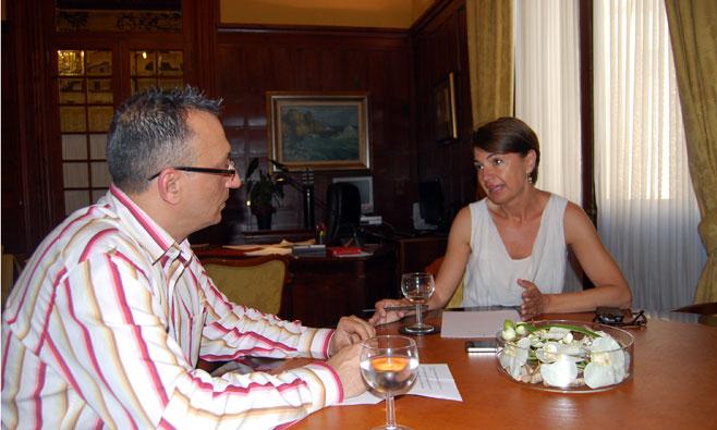 Marga Dur�n, presidenta del Parlament