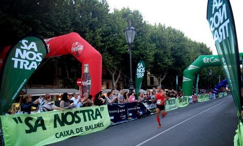 Éxito de participación en la carrera Sa Nostra 10 km Palma Mallorca 2013
