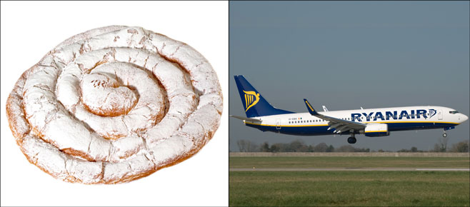 Ryanair cobrará 8€ por ensaimada