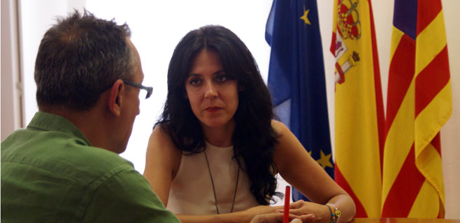 Sandra Fernández, consellera de Benestar Social
