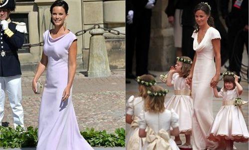 La novia del príncipe Carlos Felipe copia el look de Pippa Middleton
